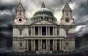 """St Pauls Cathedral"" by JJ Adams (limited edition print) - New Look Art"