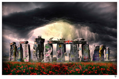 """Stonehenge"" by JJ Adams (limited edition print)"