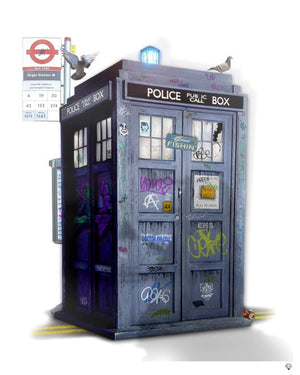 """Tardis"" by JJ Adams (limited edition print) - New Look Art"