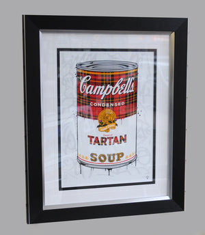 """Tartan Soup"" by JJ Adams (framed limited edition print)"