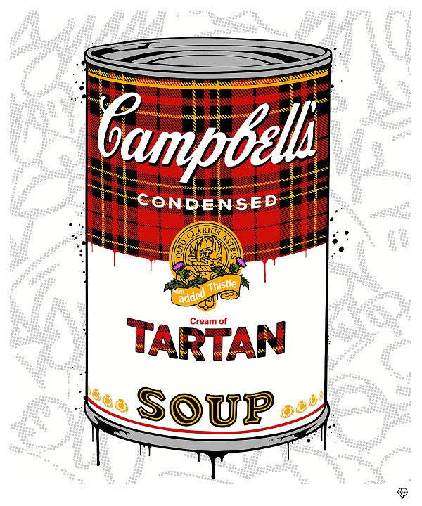 """Tartan Soup"" by JJ Adams (limited edition print)"