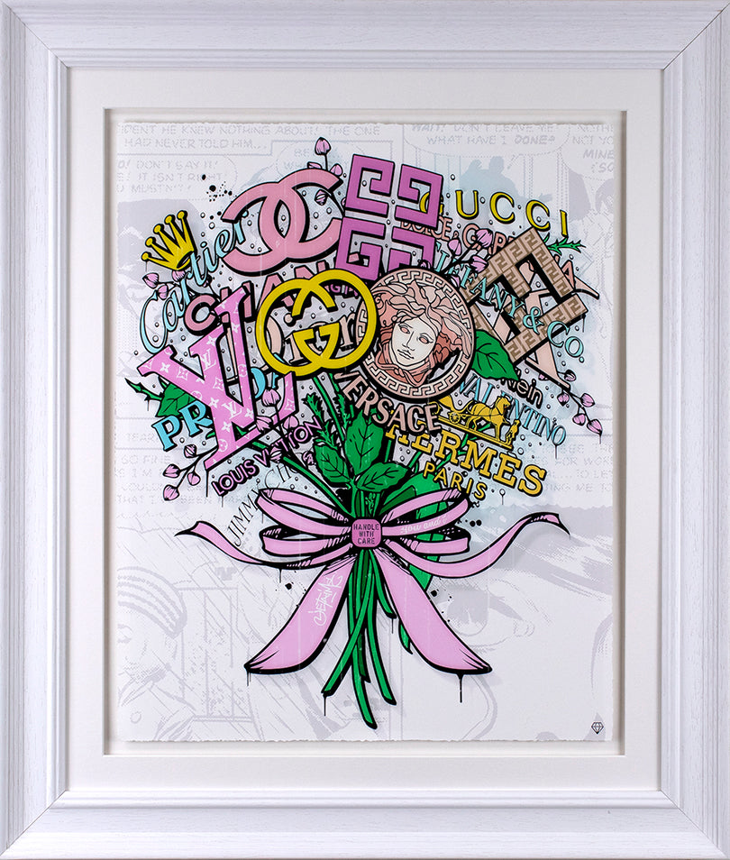 JJ Adams - The Brand Bouquet - Original & Limited Edition Print