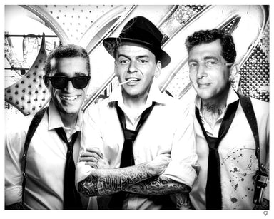 """Rat Pack Tattoo"" by JJ Adams (limited edition print)"