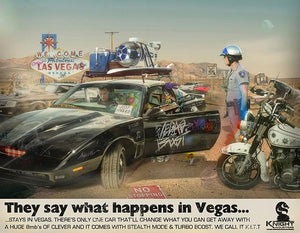 "JJ Adams - ""What Happens in Vegas, Stays in Vegas"" - Limited Edition Print"
