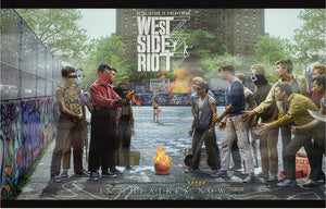 """West Side Riot"" by JJ Adams (limited edition print) - New Look Art"