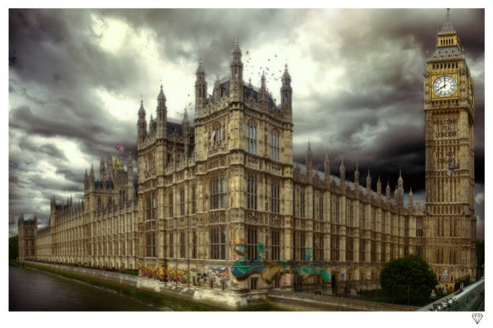 """Westminster"" by JJ Adams (limited edition print) - New Look Art"