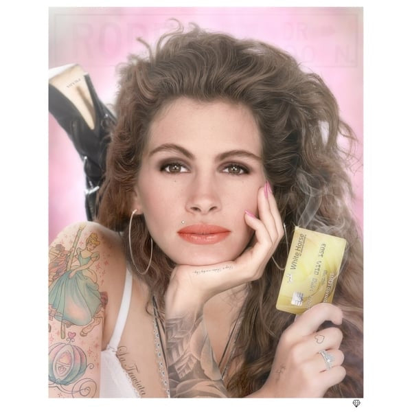 White Knight' Julia Roberts (Colour) - Limited Edition Print