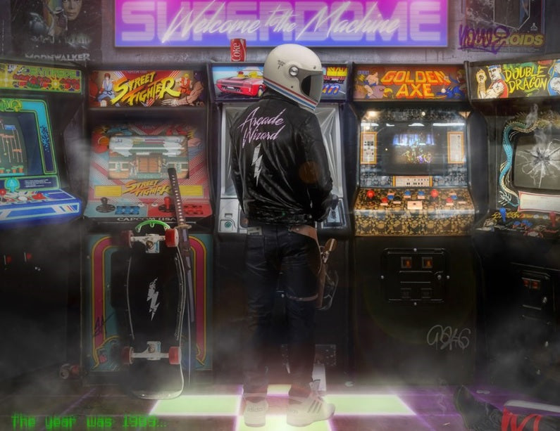 JJ Adams - 'Arcade Wizard' - Limited Edition Print