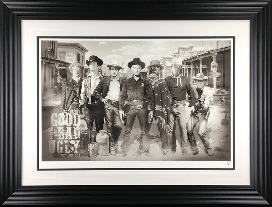 """The Good, the Bad & the Ugly"" by JJ Adams (limited edition print)"