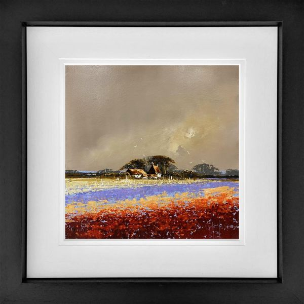 John Horsewell - 'Rose Garden' - Framed Original Artwork