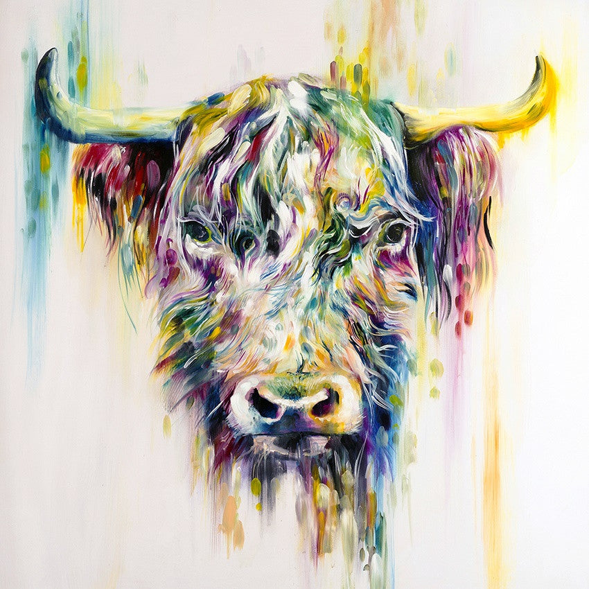 """Highland Cow"" by Katy Jade Dobson (limited edition print)"