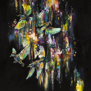 """Arcus Flight"" by Katy Jade Dobson (limited edition print) - New Look Art"