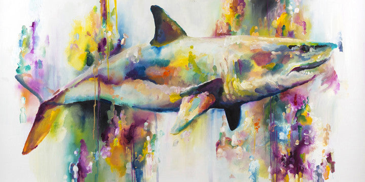 """Carnivorous"" by Katy Jade Dobson (limited edition print) - New Look Art"