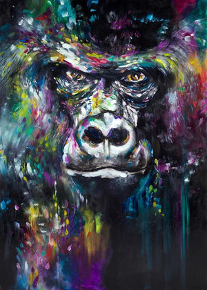 """Chimaruka"" by Katy Jade Dobson (FRAMED limited edition print) - New Look Art"