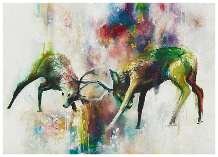 """Clash"" by Katy Jade Dobson (limited edition print)"