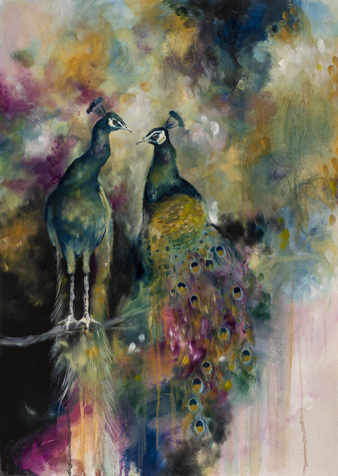 """Devine"" by Katy Jade Dobson (limited edition print) - New Look Art"