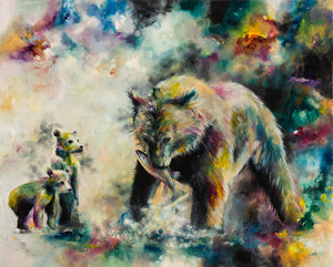 """Devoted"" by Katy Jade Dobson (limited edition print) - New Look Art"