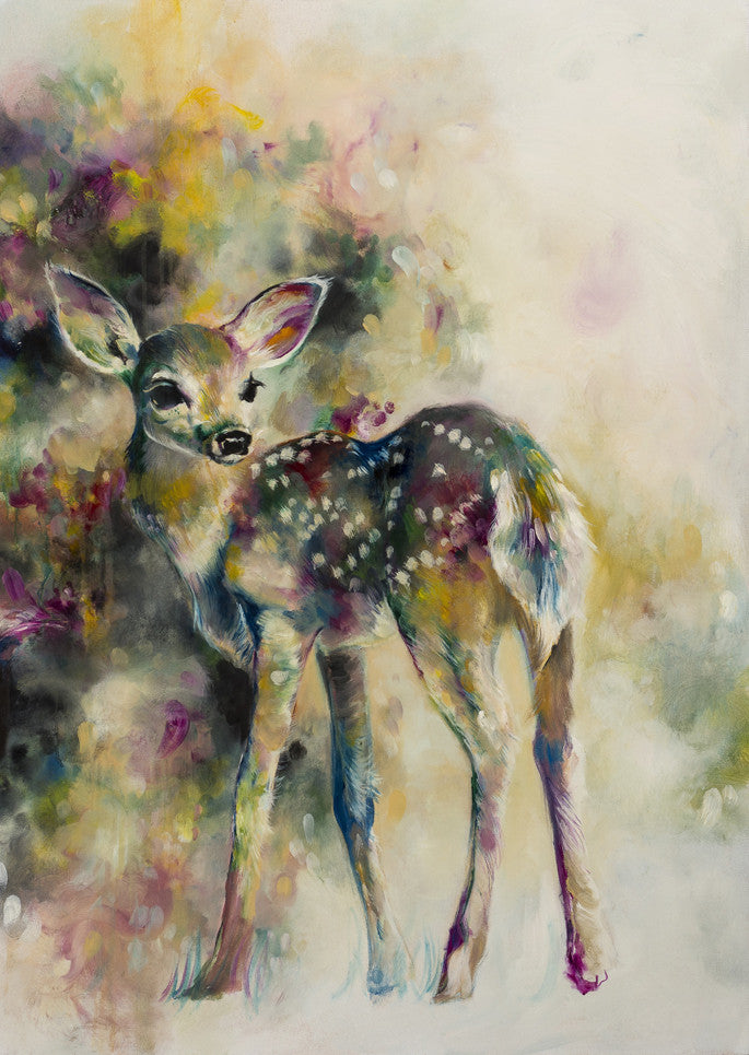 """Doe Eyed"" by Katy Jade Dobson (limited edition print) - New Look Art"