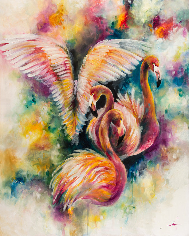 """Flamboyant"" by Katy Jade Dobson (limited edition print) - New Look Art"