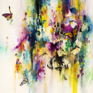 """Flutter"" by Katy Jade Dobson (limited edition print) - New Look Art"