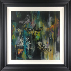 """Moonlight"" by Katy Jade Dobson (framed original oil painting)"