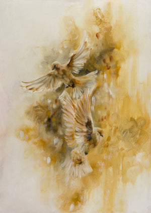 """Ochre"" by Katy Jade Dobson (limited edition print) - New Look Art"
