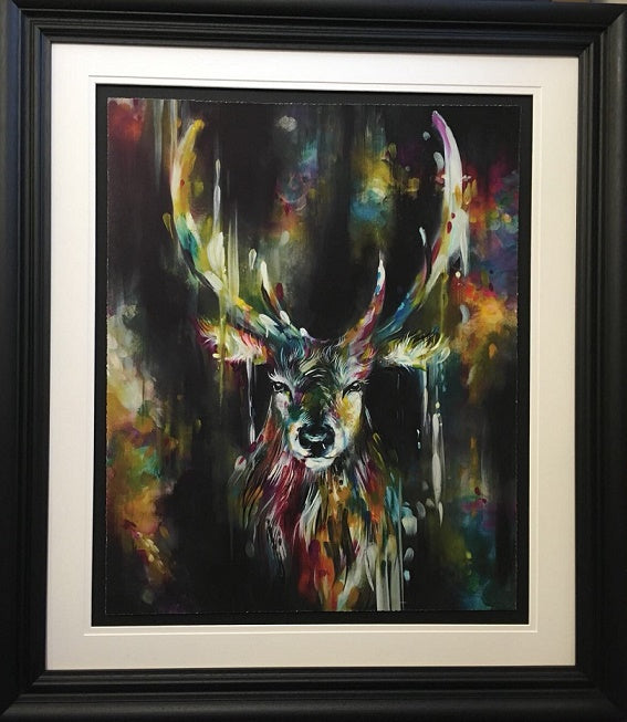 Katy Jade Dobson - 'Optic II' (Stag) - Limited Edition Print