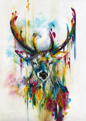 Katy Jade Dobson - 'Optic I' (Stag) - Limited Edition Print