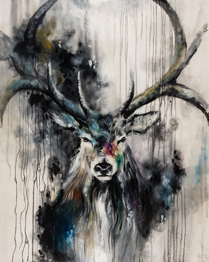 """Poise"" by Katy Jade Dobson (limited edition print) - New Look Art"