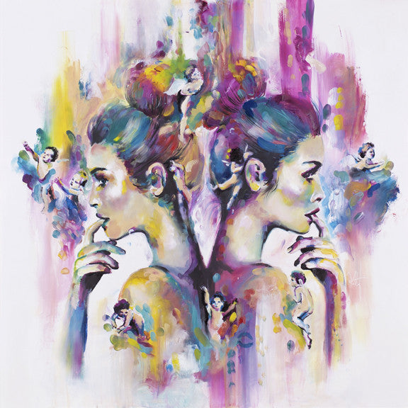 """Seraphic"" by Katy Jade Dobson (limited edition print) - New Look Art"