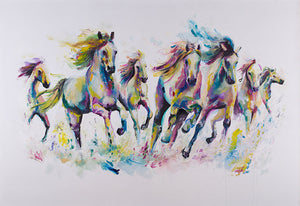 """Wild and Free"" by Katy Jade Dobson (limited edition print) - New Look Art"