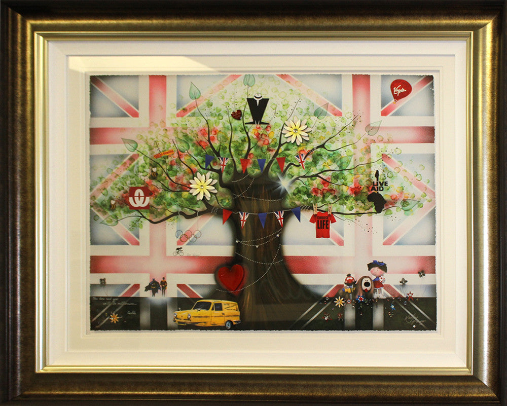 """That's How We Rolled"" by Kealey Farmer (FRAMED limited edition print)"