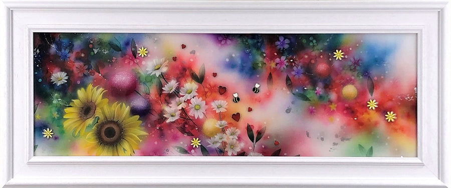 Kealey Farmer - Blossom & Bee - Framed Limited Edition Print & Original