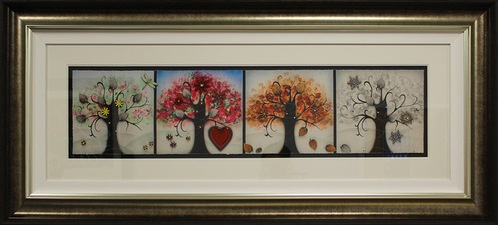 """Four Seasons"" by Kealey Farmer (FRAMED limited edition print)"