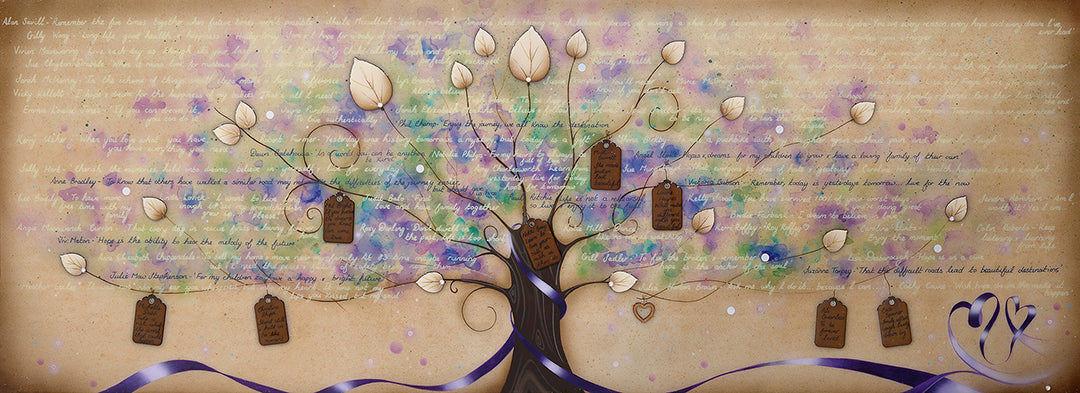 """Tree of Hopes & Dreams"" by Kealey Farmer (FRAMED limited edition print)"