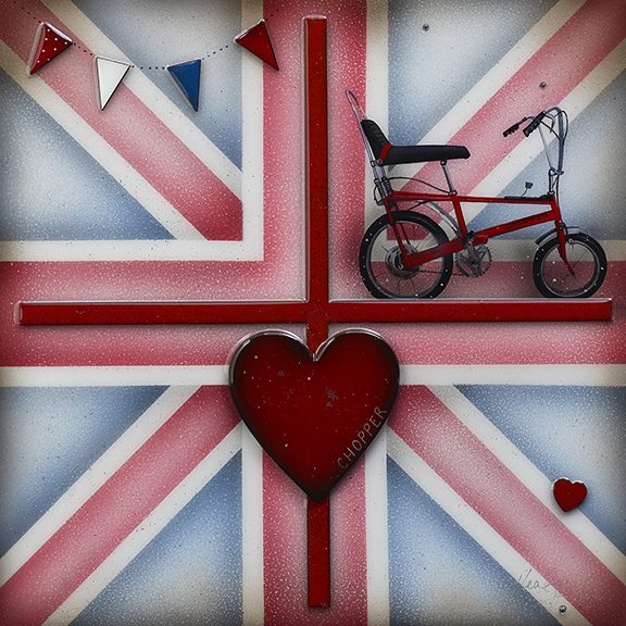 Kealey Farmer - 'Britannia Chopper' - Original and Limited Edition Art