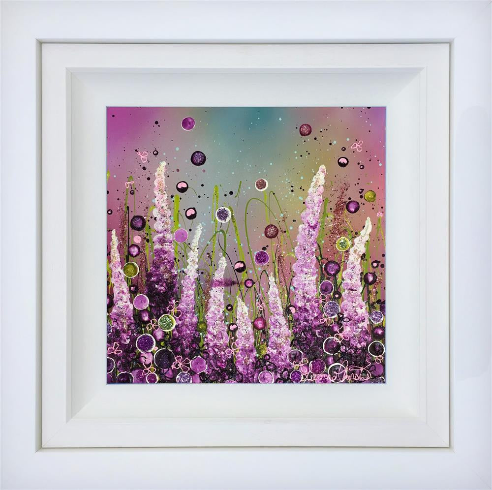 Leanne Christie - 'Shades of Violet' - Original Artwork