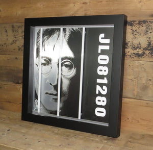 """John Lennon"" by Courty (FRAMED limited edition screen print)"