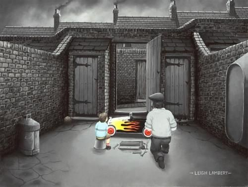 Leigh Lambert - 'Just Like A New Car' - Limited Edition Art