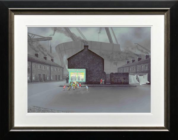 Leigh Lambert - 'Little Davy's Got Chips And Gravy' - Limited Edition Art