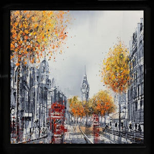 Nigel Cooke - 'London's Iconic Clock' - Original Art