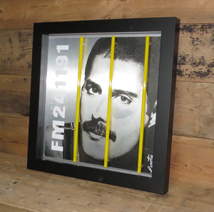 """Freddy Mercury"" by Courty (FRAMED limited edition screen print)"