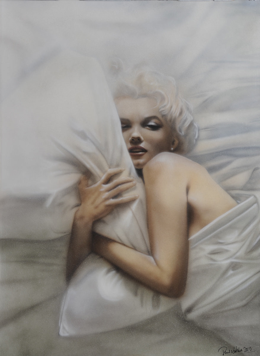 "Marilyn Monroe "" Let it Snow ""by Paul Karslake FRSA (limited edition print)"