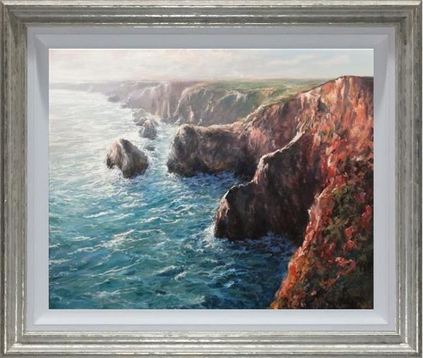 Mariusz Kaldowski - 'Calm Against's The Rock's' - Original Art