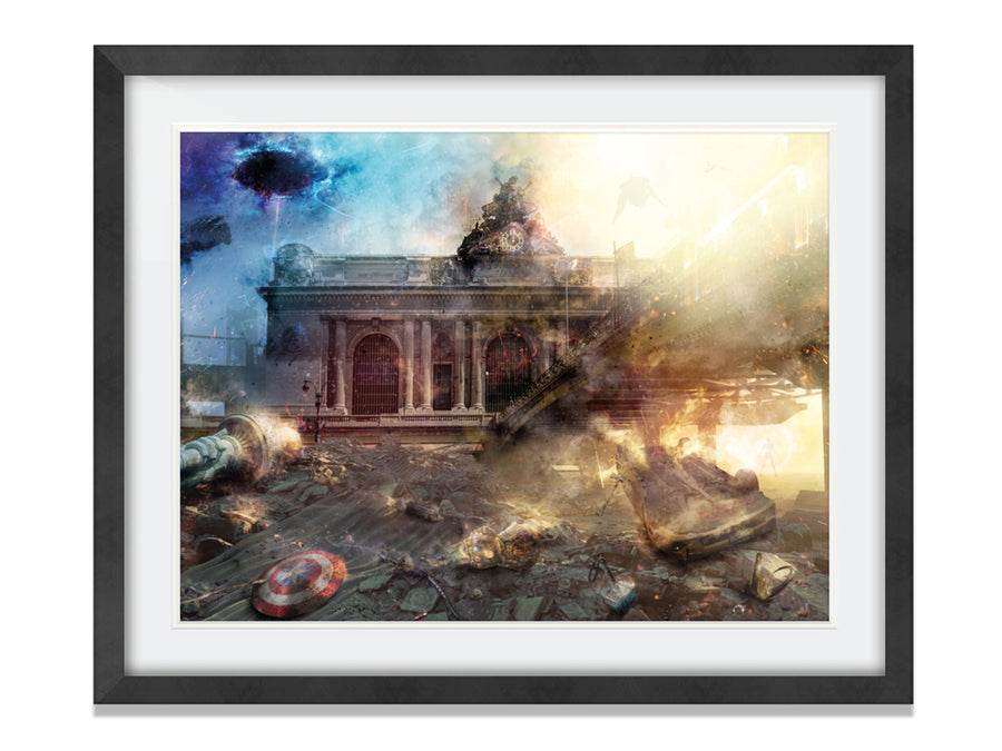 Mark Davies - The Fight of our Lives (Avengers) - Limited Edition Print