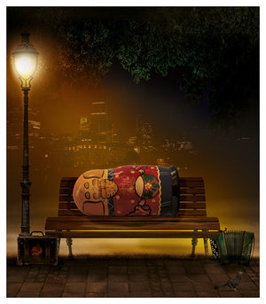 """Homeless"" by Mark Davies (limited edition print) - New Look Art"
