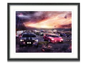 Mark Davies - 'Petrolheads 2' - Limited Edition Art & Original