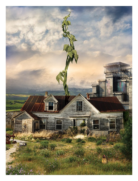 """Reap What You Sow (Jack and the Beanstalk)"" by Mark Davies (limited edition print) - New Look Art"