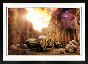 Mark Davies - 'X Never Marks the Spot' (Indiana Jones) - Limited Edition Print
