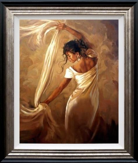 Mark Spain - 'Dance Of Satin' - Limited Edition Art